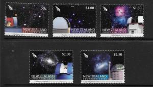 NEW ZEALAND SG2957/61 2007 SOUTHERN SKIES   MNH
