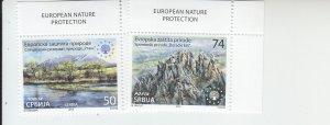 2019 Serbia Nature Protection (2)  (Scott 868-69) MNH