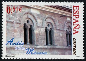 Spain 3212 MNH Architecture, Aviles