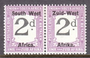 South West Africa - Scott #J2 - MH - SCV $4.00
