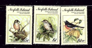 Norfolk Is 497-99 MNH 1990 Birds  #2