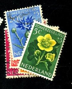NETHERLANDS #B238-42 USED FVF Cat $13