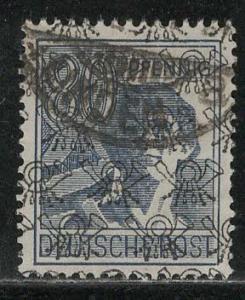 Germany AM Post Scott # 632, used