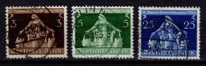 Germany 1936 Sixth International Local Government Congress, Part Set [Used]
