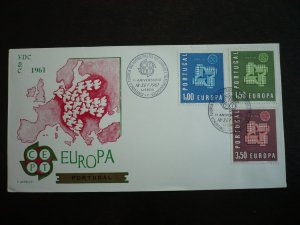 Europa 1961 - Portugal - Set on First Day Cover