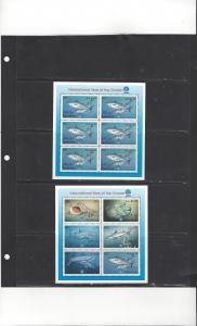 Maldives 2344-5 MNH Year of the Ocean 2 Sheets of 6