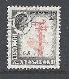 Rhodesia & Nyasaland Sc # 159 used (RS)