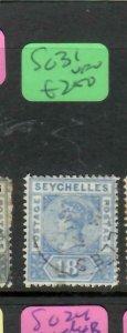 SEYCHELLES  (P2605B)  QV  18C    SG 31        VFU