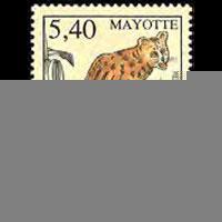 MAYOTTE 1999 - Scott# 126 Fauna-Founga Set of 1 NH