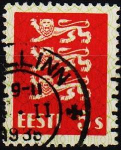 Estonia.1928 2s S.G.76 Fine Used