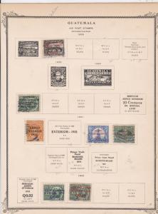 guatemala stamps page ref 17216