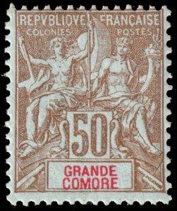 Grand Comoro - Scott 17 - Mint-Hinged - Poor Centering