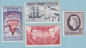 ROSS DEPENDENCY L5 - L8  MINT NEVER HINGED OG ** NO FAULTS EXTRA FINE! - Y024