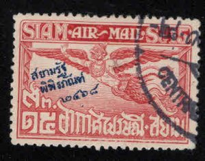 THAILAND Scott C5 Garuda airmail stamp Used with Museum overprint