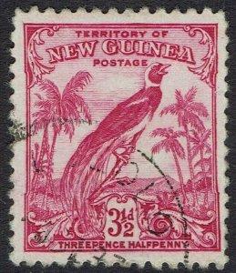 NEW GUINEA 1932 UNDATED BIRD 31/3D USED