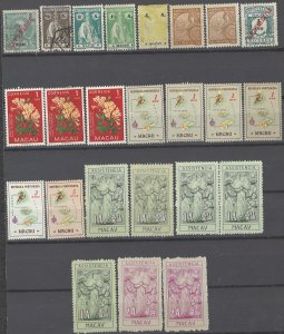 COLLECTION LOT # 1967 MACAO 24 STAMPS 1911+ CLEARANCE CV+$24