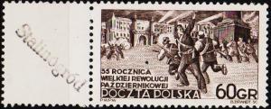 Poland. 1952 60g S.G.787 Unmounted Mint
