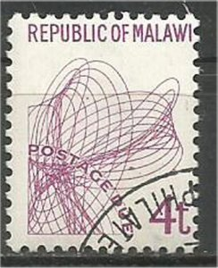 MALAWI 1998 used 4t POSTAGE DUE Scott J8