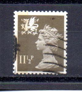 Great Britain - Wales WMMH16 used (B)