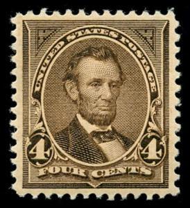 momen: US Stamps #269 Mint OG NH PSE Graded XF-SUP 95