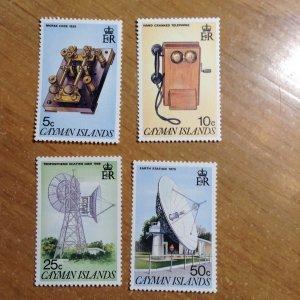 Cayman Islands  # 547-50  MNH