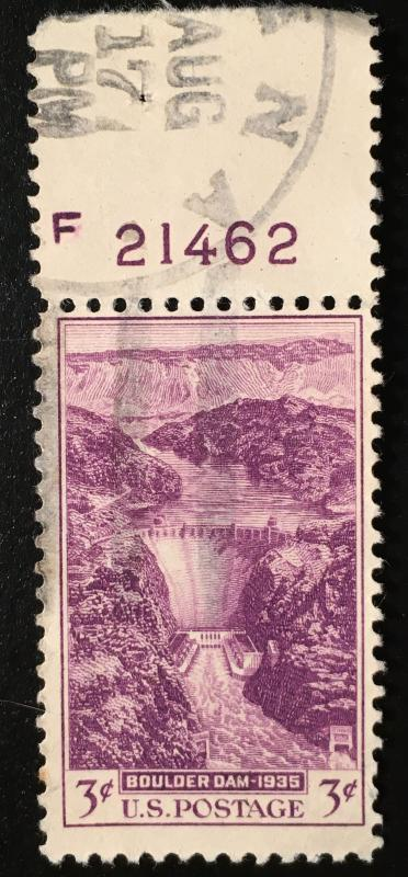 774 Boulder Dam, Circulated Single, Vic's Stamp Stash
