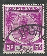 Malya - Perak || Scott # 120 - Used ©