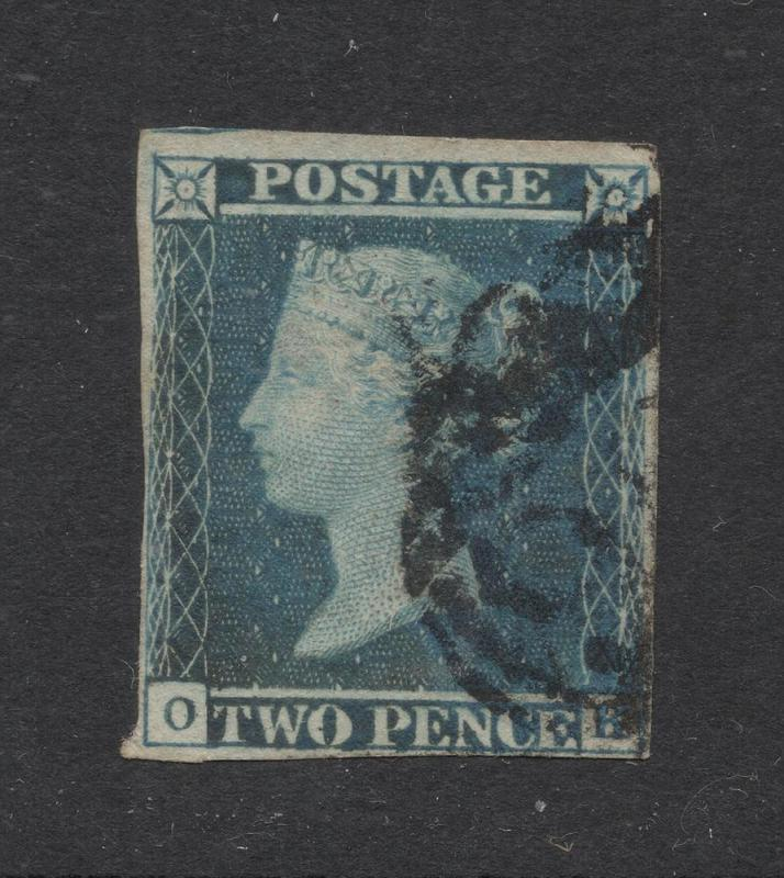 Great Britain #4 Blue - Used