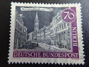 Berlin Germany  1963  Scott # 9N204