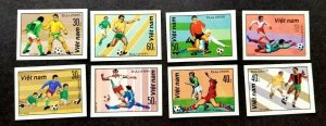 Vietnam FIFA World Cup Football 1990 Soccer Sport Games (stamp) MNH *imperf