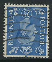 GB GVI  SG 489wi  Used   short perfs from Booklet
