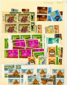 Vietnam Stamps 50+ Unissued Stamps Sets Very Rare all NH