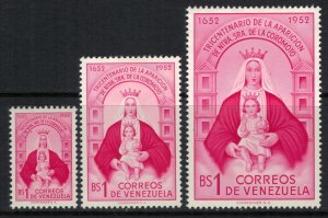 Venezuela #641-3*  CV $16.75