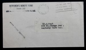 US Error/EFO Stamped Envelope U481 Albino USED  (Entire) 4 3/4 x 6 3/4 in