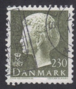 DENMARK SC# 641 USED 230o 1979-82 QUEEN MARGRETHE   SEE SCAN