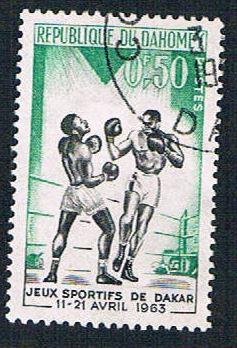 Dahomey 172 Used Boxing (BP1019)