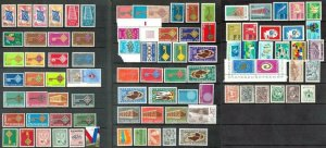 Worldwide. Mostly MNH, mixed Lot. Cat approx £200