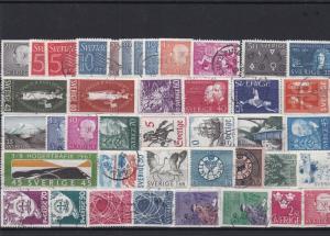 sweden stamps ref 16165