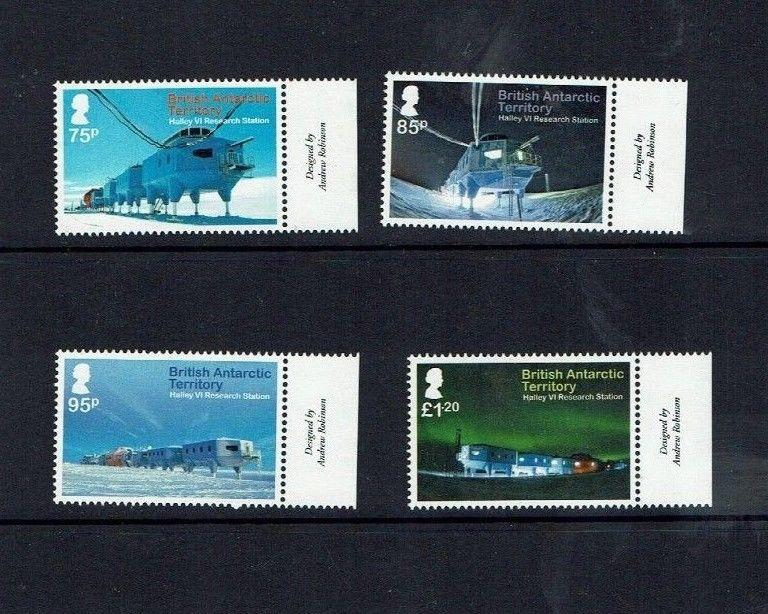 British Antarctic Territory:  2013, Halley vi Research Station, MNH set