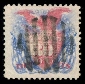 momen: US Stamps #121 Used VF