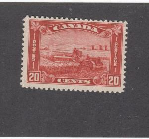 CANADA (MK845) # 175  VF-MNH  20cts HARVESTING WHEAT /ARCH/LEAF CAT VALUE $140