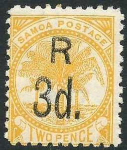 Samoa SG79 3d orange-yellow M/M