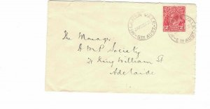 APH1481) Australia 1930 2d Red KGV Die I Small Cover