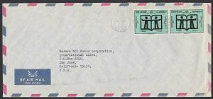 KUWAIT 1972 airmail cover to USA - ........................................29010