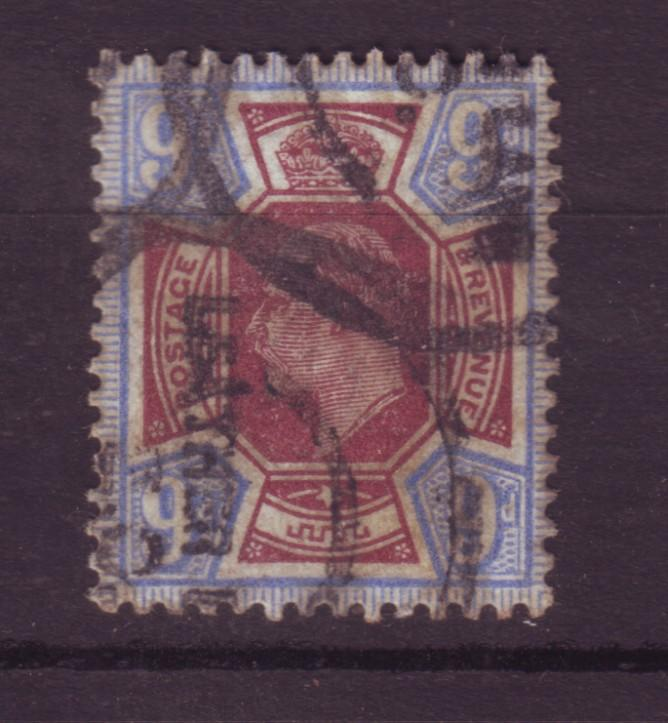 J18517 JLstamps [low price] 1902 great britian used #136 king $70.00 scv