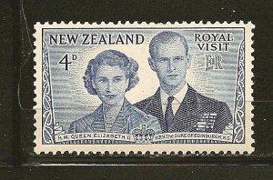 New Zealand 287 Royal Visit Mint Hinged