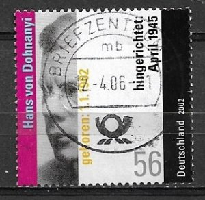 Germany  2002 - used - vfu