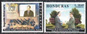 Honduras. 2000. 1509-10. The Inauguration of President Flores. MNH.
