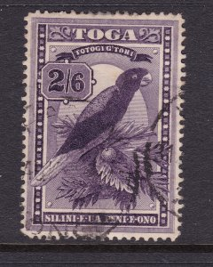 Tonga a good/fine used 2/6 from the 1897 set