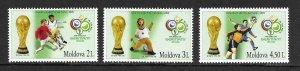 2006    MOLDOVA  -  SG.  544 / 546  -  WORLD CUP GERMANY  -  MNH